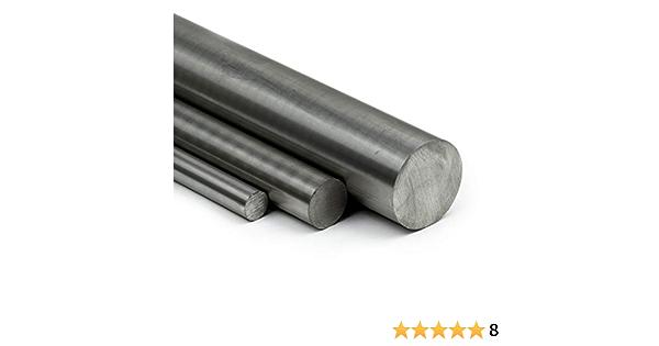 Zuschnitt 60cm Edelstahl Rundstab VA V2A 1.4301 blank h9 /Ø 25 mm L: 600mm