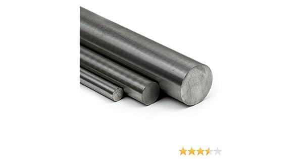 15cm Zuschnitt L: 150mm Edelstahl Rundstab VA V2A 1.4301 blank h9 /Ø 8 mm