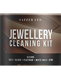 Jewellery Cleaner Bath With Brush and Basket 236ML **PLUS Jewellery Cleaning Cloth*** Cleans Gold, Silver , Platinum, White Gold, Opals, Pearls and Gems