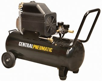 Central Pneumatic 2.5 Horsepower, 10 Gallon, 125 PSI Air Compressor by Central Pneumatic -