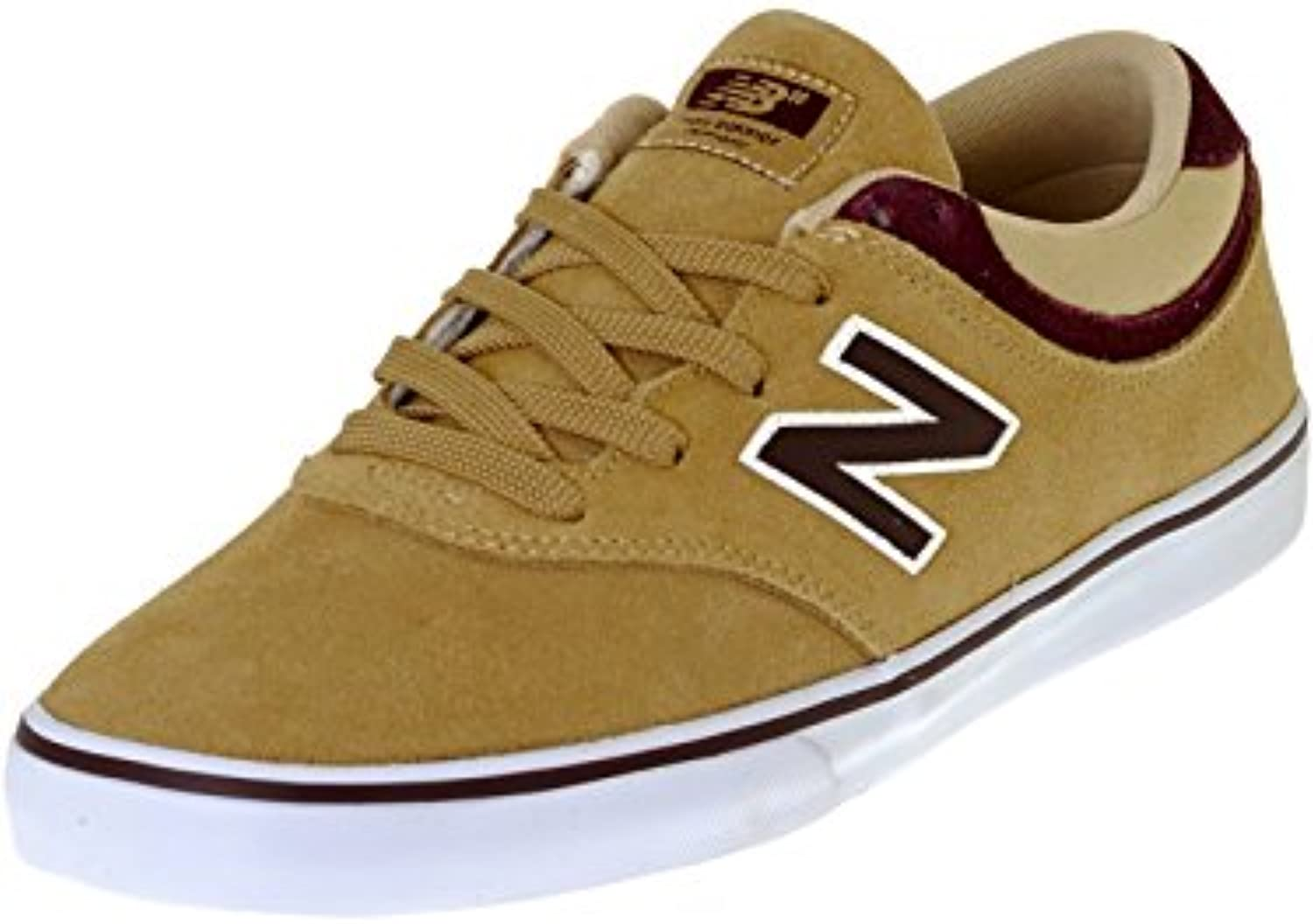 Zapatos New Balance Numeric Quincy 254 Dust-Supernova Rojo (Eu 40.5 / Us 7.5 , Marron)