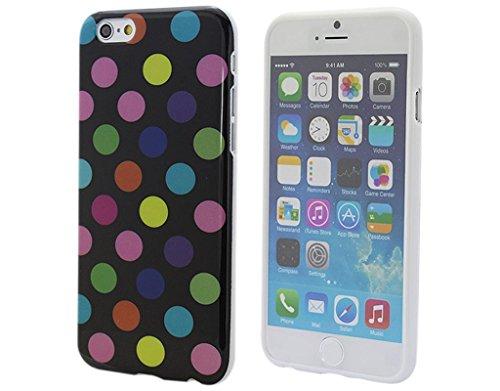BONAMART ® Gel TPU Silikon Polka Dots Case Tasche Cover Hülle für Apple iPhone 6 4.7