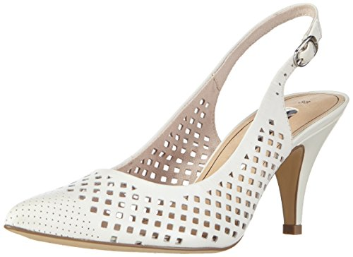 Tamaris Damen 29603 Pumps, Weiß (White 100), 39 EU