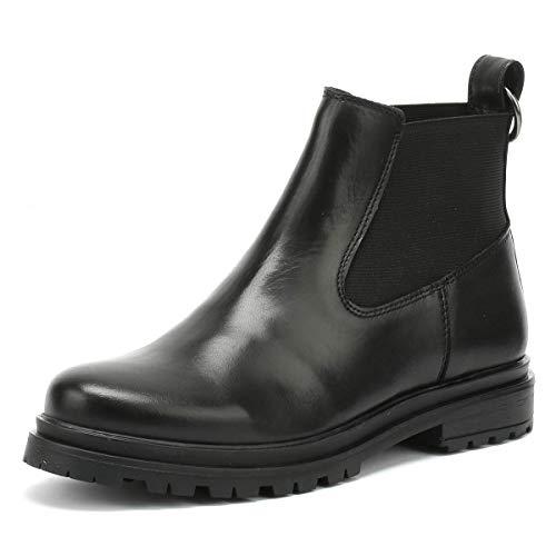 Shoe The Bear Akira Damen Schwarz Leder Stiefel-UK 3