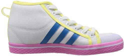 adidas Damen Honey Stripes Up W Weiß/Blau/Gelb