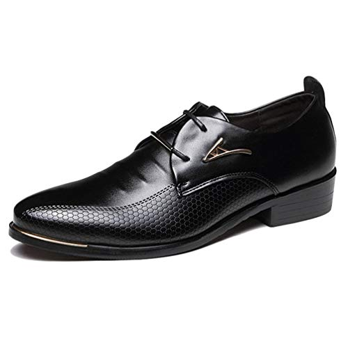 Men Dress Schuhe Pointed Toe Business Casual Shoes