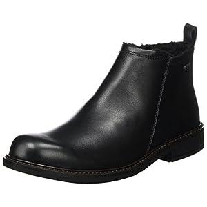 Ecco Herren Holton Klassische Stiefel, Schwarz (Black), 42 EU