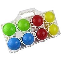 Happy People 74024 8 Balls Boccia Toy Set, 7 cm