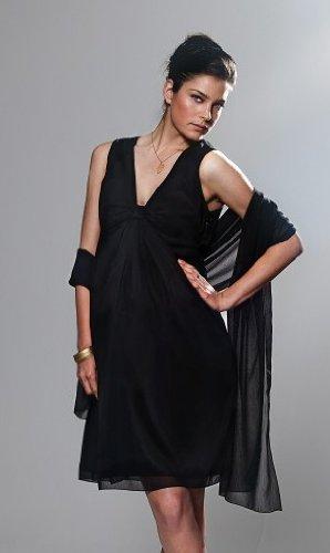 Bellybutton Robe de mariée Nicola Robe de soie robe de mariée Robe De Soirée Pour Femmes Vêtements de maternité/vêtements 2153 Noir (noir)