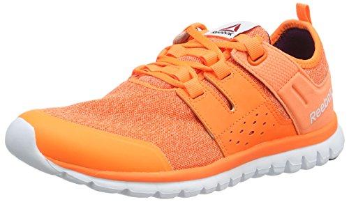 Reebok Sublite Authentic 2.0 Mtm, Chaussures de Running Compétition Femme Orange - Orange (Electric Peach/Energy Orange/Wht/CEL Orchid)