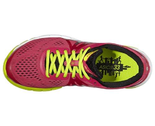 ASICS Gel-Excel33 3, Chaussures de Running Entrainement Femme RASP/LIGHT/LIM