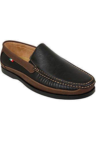 Yours Clothing , Chaussures de ville à lacets pour homme Noir
