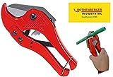 ROTHENBERGER Industrial Kunststoff  Rohr abschneider ECO , Rohr schere , rohrschneider , plastik - 42 mm , 36099