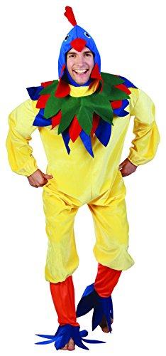 Imagen de reír y confeti  fiaani008  disfraz para adultos  gallo de vestuario deluxe  hombre  talla m