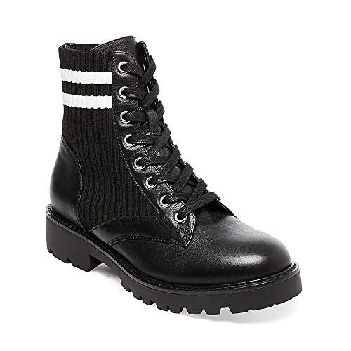 Steve Madden Frauen Hills Geschlossener Zeh Fashion Stiefel Schwarz Groesse 8.5 US /39.5 EU (Hills-schuhe Für Frauen)