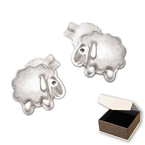 clever-schmuck-petites-boucles-doreilles-argent-925-mini-mouton-5-mm-sobre-partie-satine-et-brillant