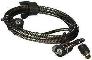 Twin Head Cable Lock from Lenovo Câble de verrouillage 1.8 m