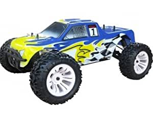 Monster Truck Blade TS 1/10 Off road con Motore a Scoppio GO.18 a due marce Radio 2.4 GHz 4WD RTR RH1002M VRX