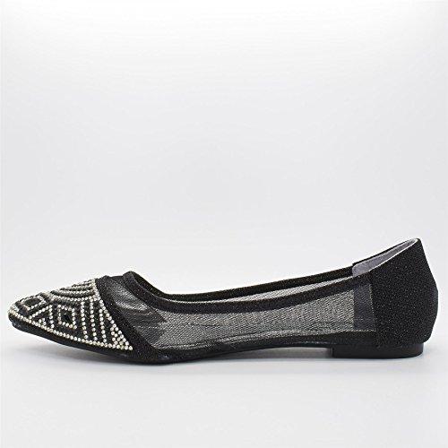 London Footwear ,  Mädchen Ballett Schwarz