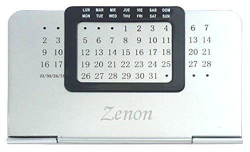 ewiger-kalender-mit-eingraviertem-namen-zenon-vorname-zuname-spitzname