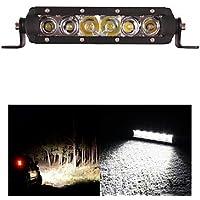 30W barra luminosa a LED 3000lm Combo per spegnere il trattore su strada Carrello barca ATV 4WD 4x4 di lavoro della barra di guida