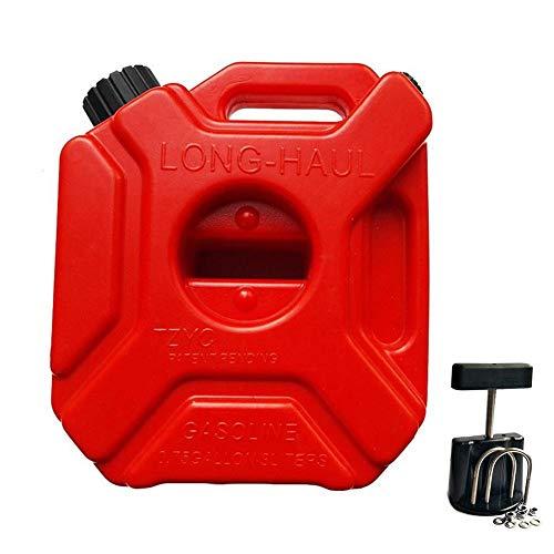 juman634 5 L taniche di Benzina Portatile di Ricambio Auto Tamburo di Petrolio Anti-statica Serbatoio di Benzina di plastica per Auto Moto barile di Petrolio Secchio di Carburant