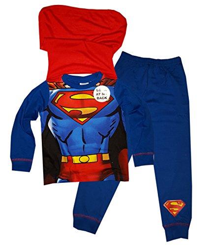 Jungen Superman Pyjama mit Cape