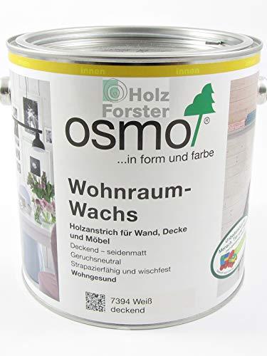 OSMO Wohnraum-Wachs 7394 weiß deckend, 2,50 Liter