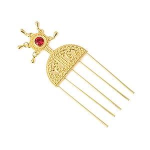 BR Gold Jewelry Äthiopische Haarnadel Schmuck Äthiopien Haarkämme Afrika Haarkamm Eritrea Kenya Haarstäbe Habasha