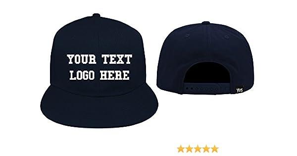 piuttosto economico grande vendita disponibile YUS Cappello Snapback Vari Colori Personalizzato con Scritte e ...