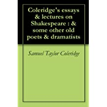 Coleridge Essays And Lectures On Shakespeare - image 9