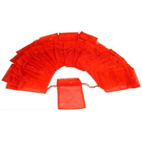 findingking-48-colore-rosso-organza-custodia-con-cordoncino-per-laminazione-1016-x-1270-4-cm-x-5-sac