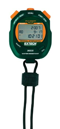 Extech EXT365535 Decimal Stopwatch/Clock