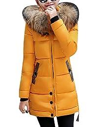 E Amazon Giacche Cappotti it Giallo Taglie Donna Forti qTPxpqf 2fc2ad911e4