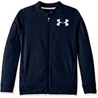 Under Armour Pennant Jacket 2.0 Parte Superior del Calentamiento, Niños, Azul, YXL