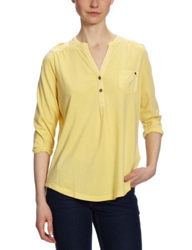 Tom Tailor Denim - T-Shirt - Femme Jaune (3037)