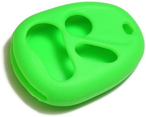 dantegts grün Silikon Schlüsselanhänger Schutzhülle Smart-Fernbedienung Beutel Schutz Schlüssel Kette
