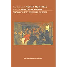 New Readings of Yiddish Montreal: Traduire Le Montreal Yiddish (Canadian Studies) (International Canadian Studies Series)