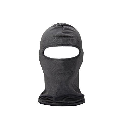 FENTI Multifunktionen Gesichtsmaske Gesichtschutz Maske Warm Fahrrad Ski Snowboard Sport Grau