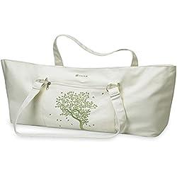 Gaiam 05-52506 - Bolsa de yoga (algodón), color beige