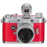 Minox DCC 5.1 Appareil Photo Numérique Compact 5.1 Mpix Rouge