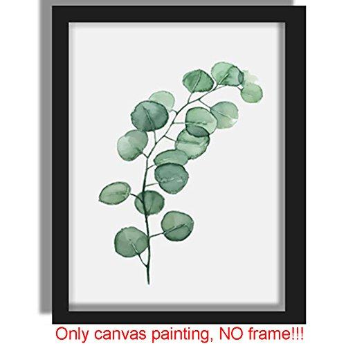 Bilder Aufhänger Pflanzen Poster Kunstdruck auf Leinwand Home Decor Wall Art Craft für Restaurant, Schlafzimmer, Wohnzimmer, Gang und so weiter, 3, Free Size (Home Decor Gemälde)