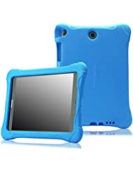 MoKo Samsung Galaxy Tab A 9.7 Funda - MoKo Kids Friendly Ultra Light Weight Shock Proof Super Protective Funda para Samsung Galaxy Tab A 9.7 Tablet, Azul