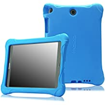 MoKo Samsung Galaxy Tab A 9.7 Funda - Kids Friendly Ultra Light Weight Shock Proof Super Protective Funda para Samsung Galaxy Tab A 9.7 Tablet, Azul