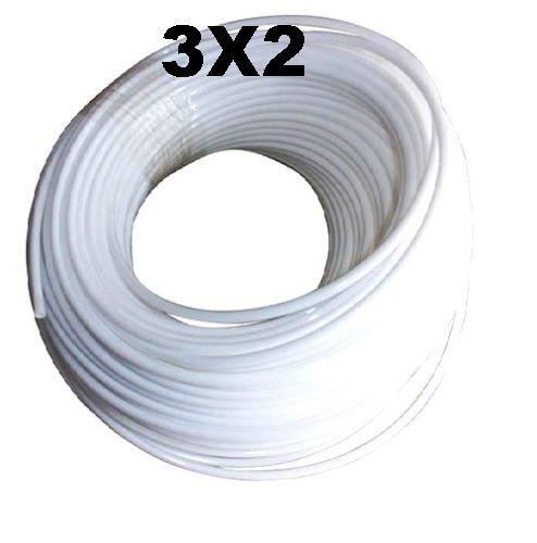 1 Mètre Tube Téflon Ptfe Diamètre Extérieur 3mm X Diamètre Intérieur 2mm Haute Température Pour Extrudeuse Mendel Prusa Flashforge