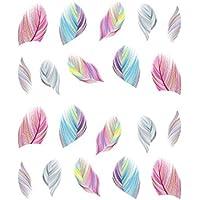 Westeng 1 Piezas Pegatina Decoracion para las Uñas Decal DIY Uñas Herramienta de Decoración Arte Adhesivos Uñas Pegatinas