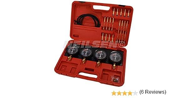 Synchronisez Kit de Carburator Outils pour r/églage carburateur carburateur /équilibre synchronisation moteur Tune Motorcylce
