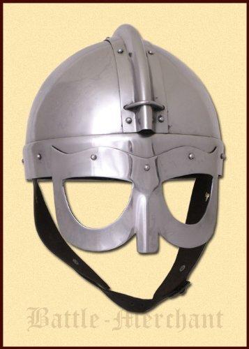Gafas de casco de vikingo, 2 mm de acero, talla M - seguimiento de la lucha de casco