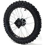 "Roue 14"" avant Racing - ø12mm - Dirt bike / Pit bike / Mini Moto"