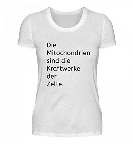 Chorchester Hochwertiges Damenshirt – Mitochondrien Sind Kraftwerke der Zelle!
